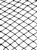 Sodynee Heavy Duty 25' X 50' Net Netting for Bird Poultry Aviary Game Pens, Approx 5.3 pounds