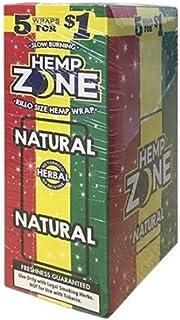Hemp Zone Cigar Wraps (Natural)