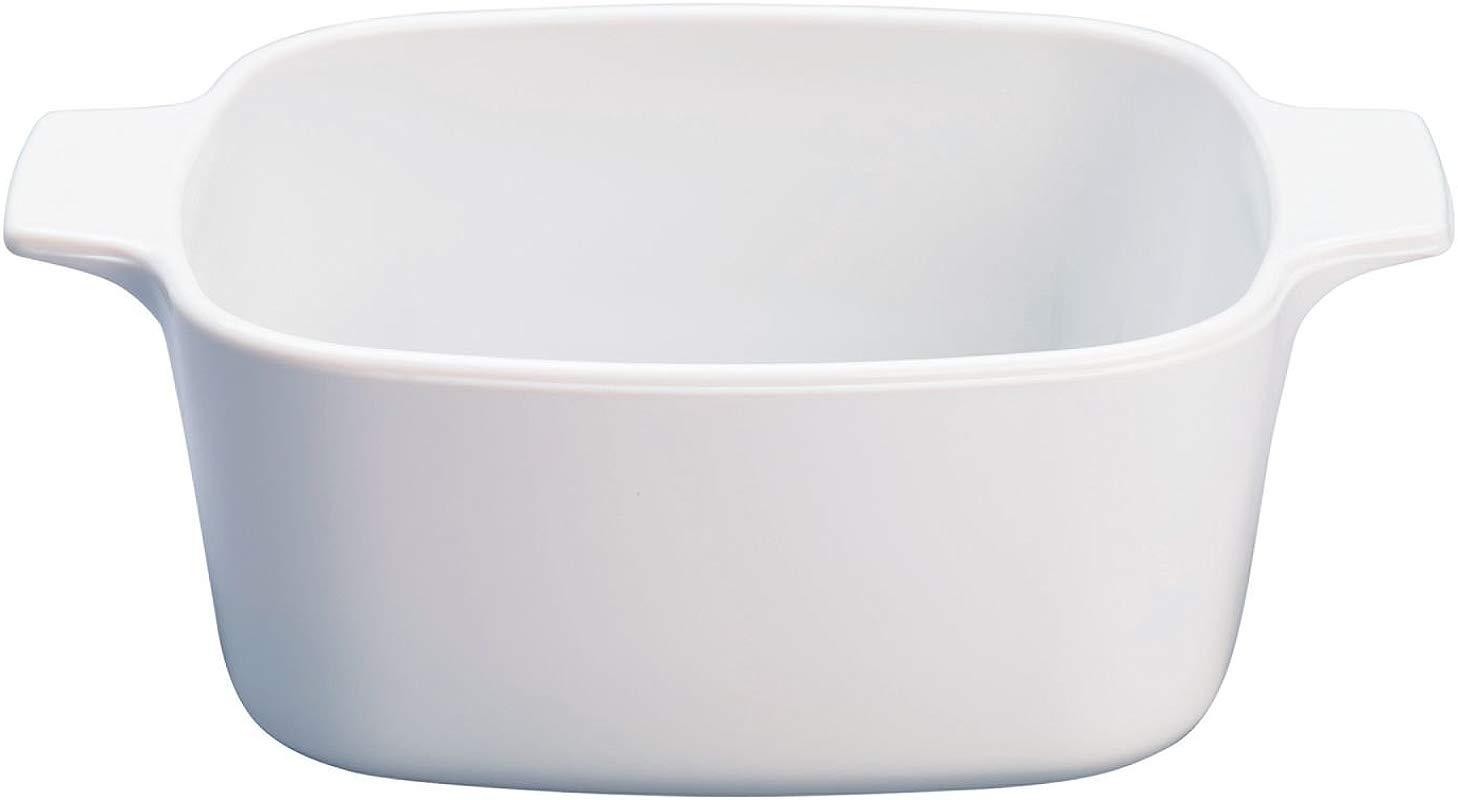 CORNINGWARE StoveTop PYROCERAM Just White 1 5L Casserole