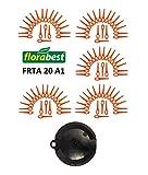 Florabest Lot de 100 lames de rechange pour coupe-bordures sans fil LIDL FRTA 20 A1 Lidl IAN 282232 de Florabest