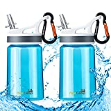 AceCamp 2 Pack-Kids Water Bottle,Eastman Tritan Kid Water Bottle BPA Free&FDA Approved Sports Water Bottle 12...