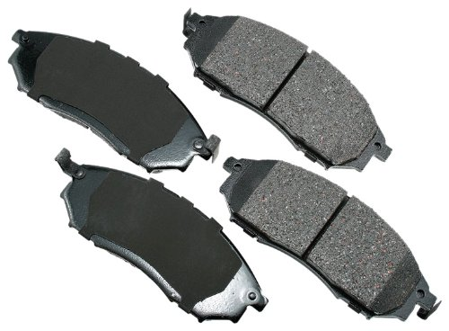 Akebono ACT888 Proact Ultra Premium Ceramic Disc Brake Pad kit