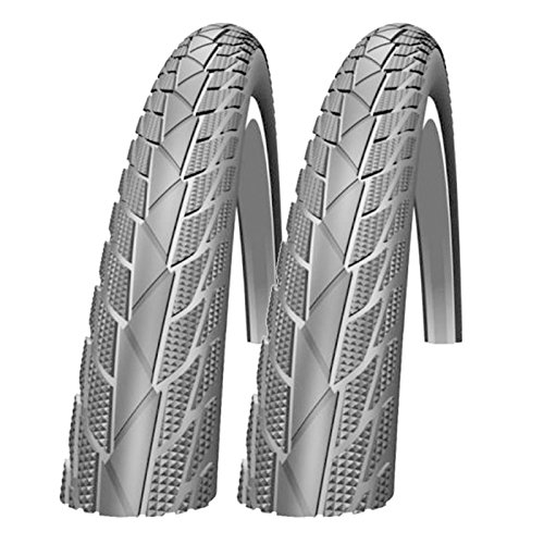 Impac Streetpac 26 x 1.75 Slick Mountain Bike Tyres (Made by Schwalbe) - Pair