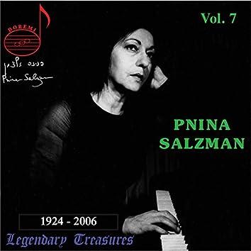 Pnina Salzman, Vol. 7: Chamber Music & Solos (Live)