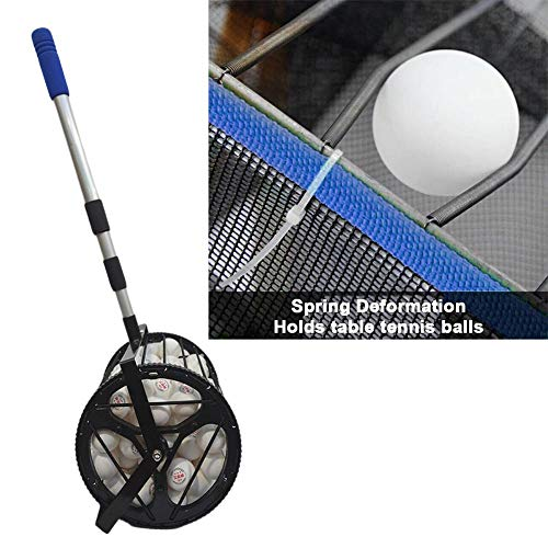 Review Of LLDWORK Table Tennis Ball Picker Upper Portable Ping-Pong Ball Collector Ping Pong Ball Ro...