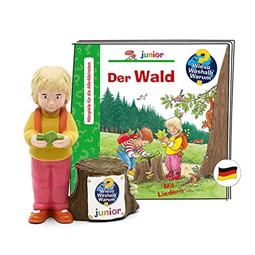 tonies Hörfigur für Toniebox, Wieso Weshalb Warum Junior – Wald, Hörspiel für Kinder ab 3 Jahren, Spielzeit ca. 30 Minuten