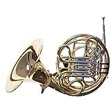 String Swing BHH18-FW French Horn Holder - Black - Flat Wall...