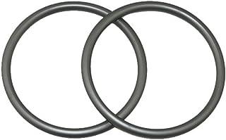 スリング リング 抱っこひもリング ベビーホルダーリング TOPIND アルミニウム 軽量 3'' 二個入り