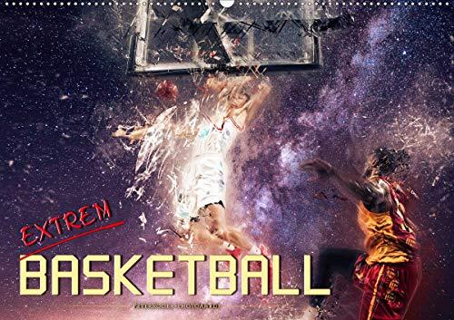 Basketball extrem (Wandkalender 2021 DIN A2 quer)