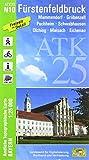 ATK25-N10 Fürstenfeldbruck (Amtliche Topographische Karte 1:25000): Mammendorf, Gröbenzell, Puchheim, Schwabhausen, Olching, Maisach, Eichenau, ... Amtliche Topographische Karte 1:25000 Bayern)