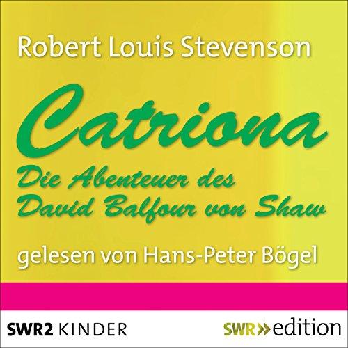 Catriona audiobook cover art