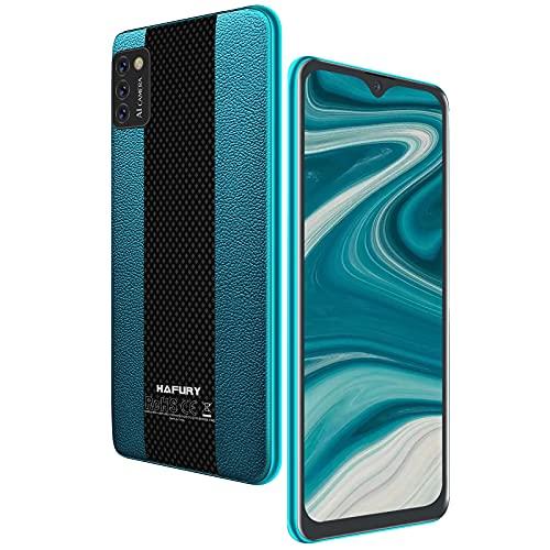 Smartphone Libre 4G, HAFURY Teléfono Móvil Android 10.0 Cámara Trible 13MP+0.3MP+0.3MP, Dual Sim Desbloqueo Facial, Pantalla 5.5 Pulgada FHD 3100mAh, 2GB RAM+16GB ROM (Ampliable hasta 128 GB), Verde