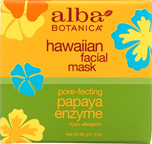 Alba Botanica Hawaiian, Papaya Enzyme Facial Mask, 3 Ounce by Alba Botanica
