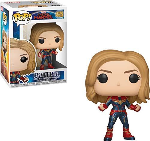 Funko 36341 Bobble Capitán Marvel: POP 1, Multi color [Los estilos pueden variar]