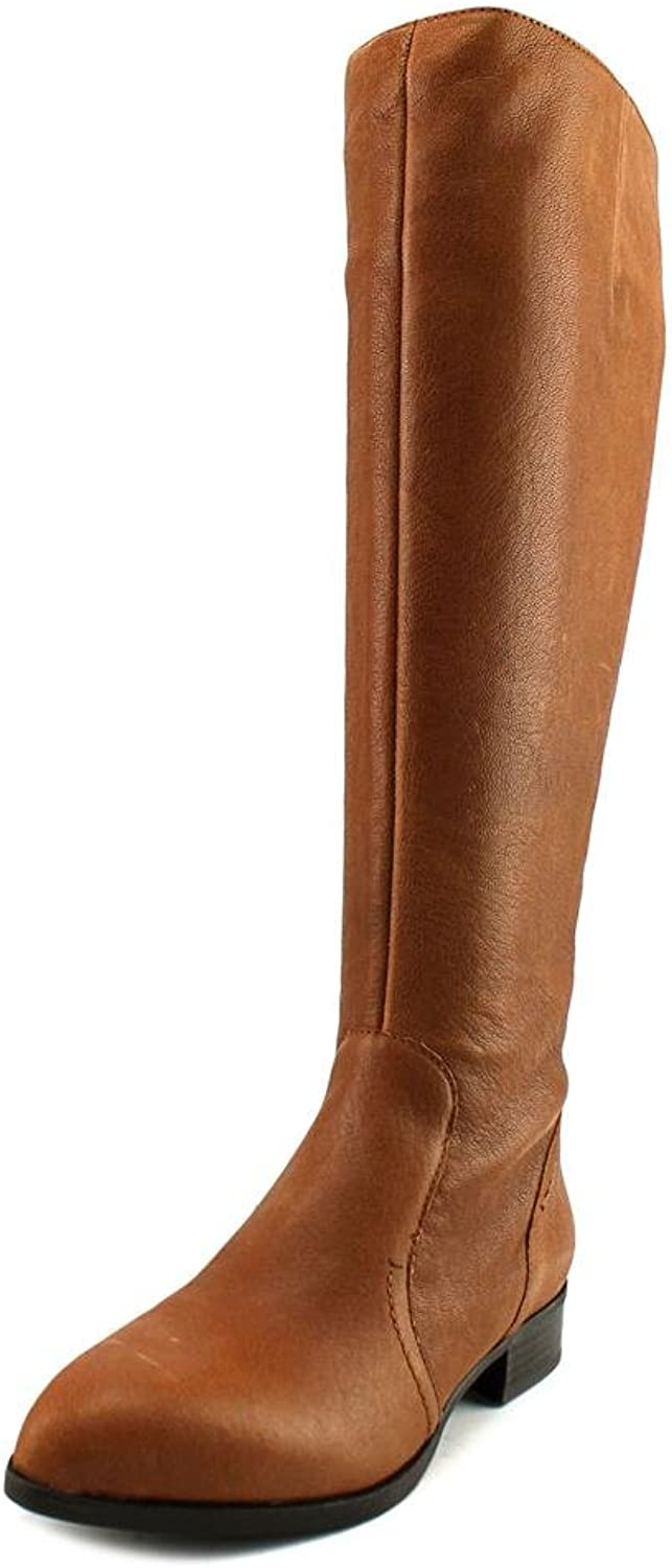 Nine West Womens Nicolah-Wide Leather Winter Boot