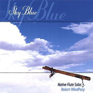 Sky Blue: Native American Flute Music