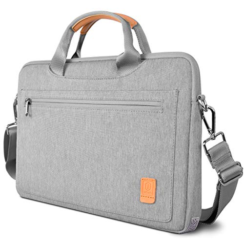 WIWU Laptop Shoulder Bag for 13.5 Inch Surface Book 3/2/1|Surface Laptop 3/2/1 Carrying Case for 13-inch Old MacBook Air|MacBook Pro,13 HP Acer ASUS Ultrabook Notebook Sleeve with Accessory Pocket