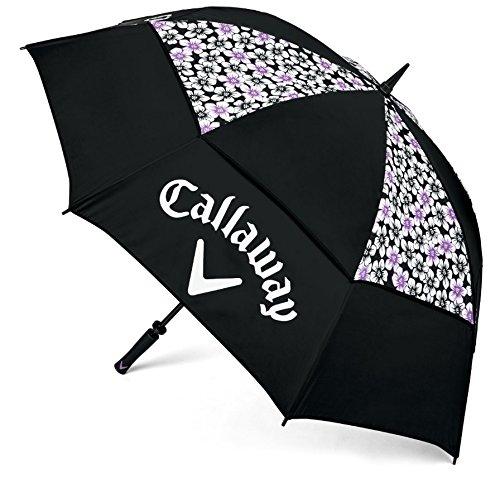 Callaway Updown 60 Regenschirm, schwarz/violett, m