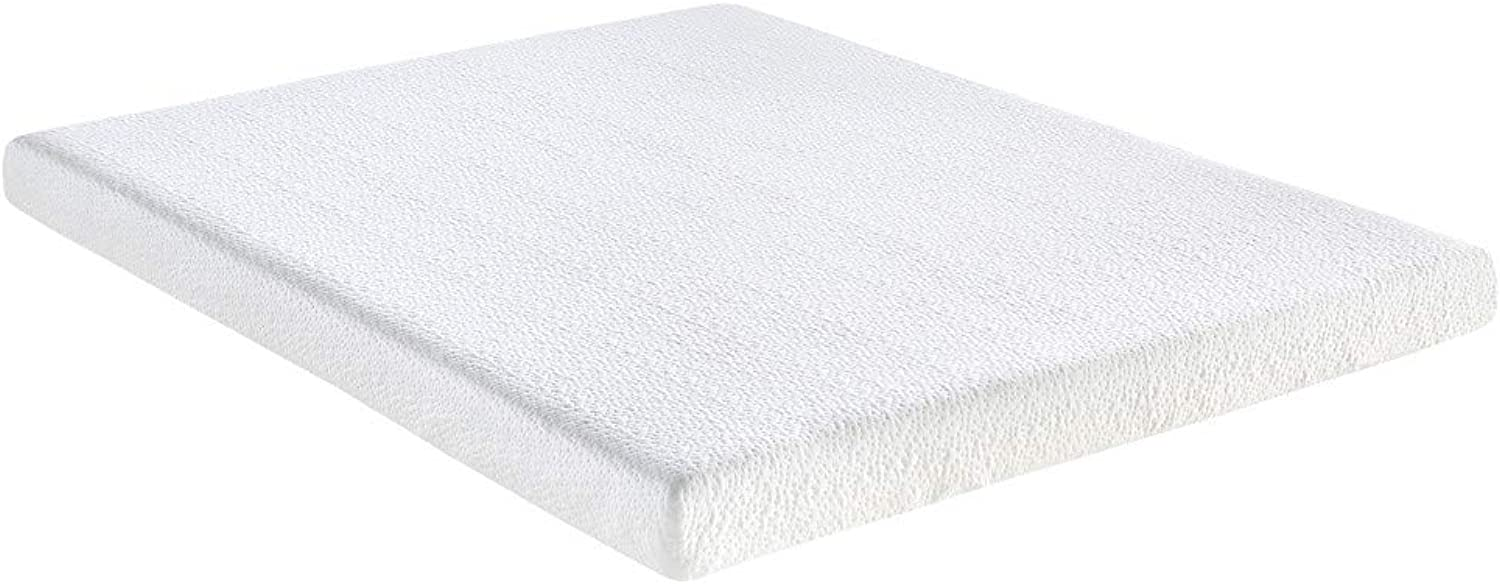 Classic Brands 4.5-Inch Memory Foam Replacement Mattress for Sleeper Sofa Bed, Twin