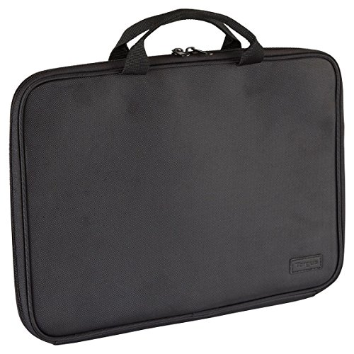 Targus Clamshell Laptop Briefcase Designed for Business and Professional Travel and Commuter Bag fit up to 13.3-Inch, Black (OBC003EU)