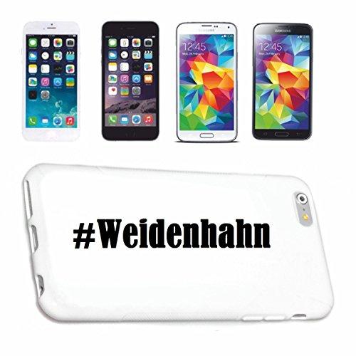 Handyhülle kompatibel mit Samsung S4 Galaxy Hashtag #Weidenhahn im Social Network Design Hardcase Schutzhülle Handy Cover Smart Cover