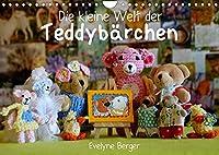 Die kleine Welt der Teddybaerchen (Wandkalender 2022 DIN A4 quer): Eine zauberhafte Reise durch das Teddyjahr. (Monatskalender, 14 Seiten )