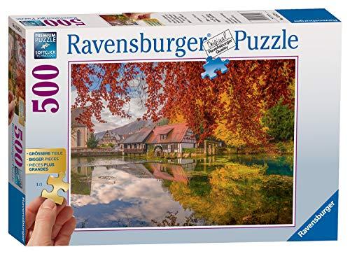 Ravensburger Puzzle 13672 - Mühle am Blautopf - 500 Teile