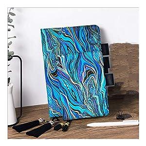 HJHJ Cuadernos Notebook Impreso, 100gsm Papel Superior de Color Beige, Hardcover Cloth Diario, de 80 Hojas, Disponible en Dos especificaciones, for la Escuela Oficina blocs de Notas
