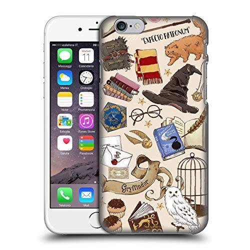 Head Case Designs sous Licence Officielle Harry Potter Hogwarts Modèle Deathly Hallows XXXVII Coque Dure pour l'arrière Compatible avec Apple iPhone 6 / iPhone 6s