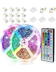 JESLED LED Strip Lights, RGB LED Light Strips with 44-Key