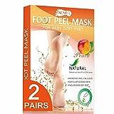 Best Foot Peels - Foot Peel Mask - 2 Pairs - Upgraded Review