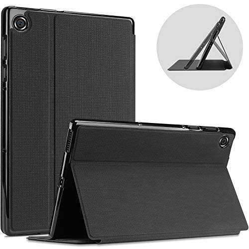 ProCase for Lenovo Tab M10 FHD Plus Case 10.3 Inch (2020 2nd Gen), Slim Folio Protective Stand Case Smart Cover for M10 Plus (Model: TB-X606F TB-X606X) -Black