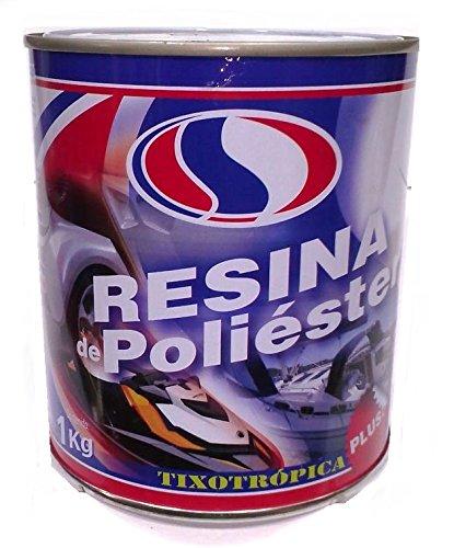 PLAINSUR Resina DE Poliester 1 KG + CATALIZADOR