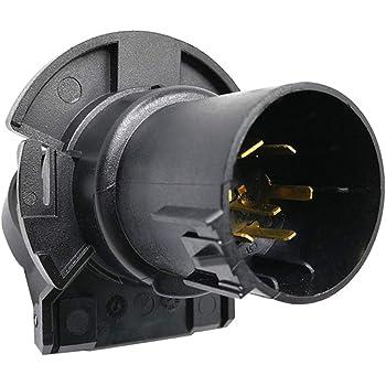 ECCPP 7 Way Trailer Blade Socket Trailer Connector 12V Towing Connector