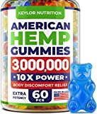 #1 American Hemp Gummies - Keylor Nutrition extend the hemp product line with a new formula for faster relief! We present our NEW omega 3 gummies with 3,000,000 of hemp oil blend! To please you, even more, we kept the price lowest possible and the qu...