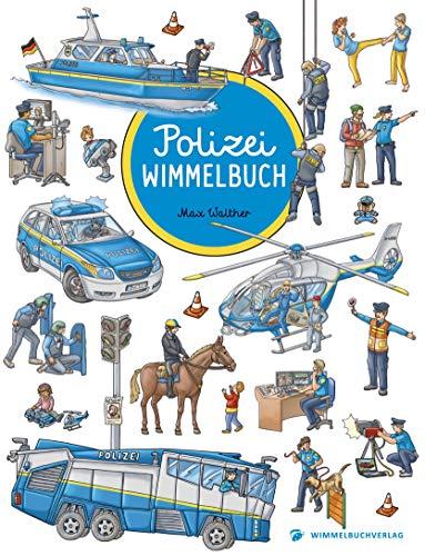 Polizei Wimmelbuch: Kinderbuch ab 2 Jahren