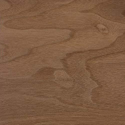 MicroWOOD Furnierpapier (A4) 0,4-0,55 mm | 10 Stück | verschiedene Sorten | Spezialfurnier bietet neue Gestaltungsmöglichkeiten in der kreativen Holzarbeit sowie im Modellbau. (Nussbaum)