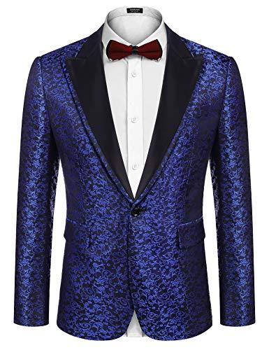 COOFANDY Mens Suit Jacket Blazer...
