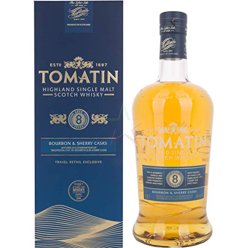 Tomatin Whisky 8 Years Old 40º - 1000 ml