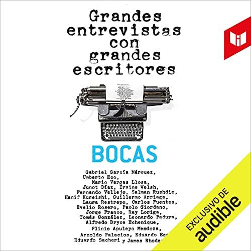 Diseño de la portada del título Grandes entrevistas con grandes escritores