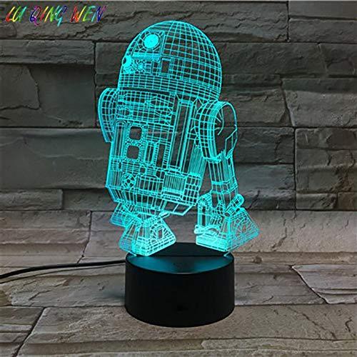 Astromech Droid Robot R2 D2 Led Night Light Star Wars Night Light Kid Kids Gift Home Decoration Table Lamp Star Wars Robot R2D2