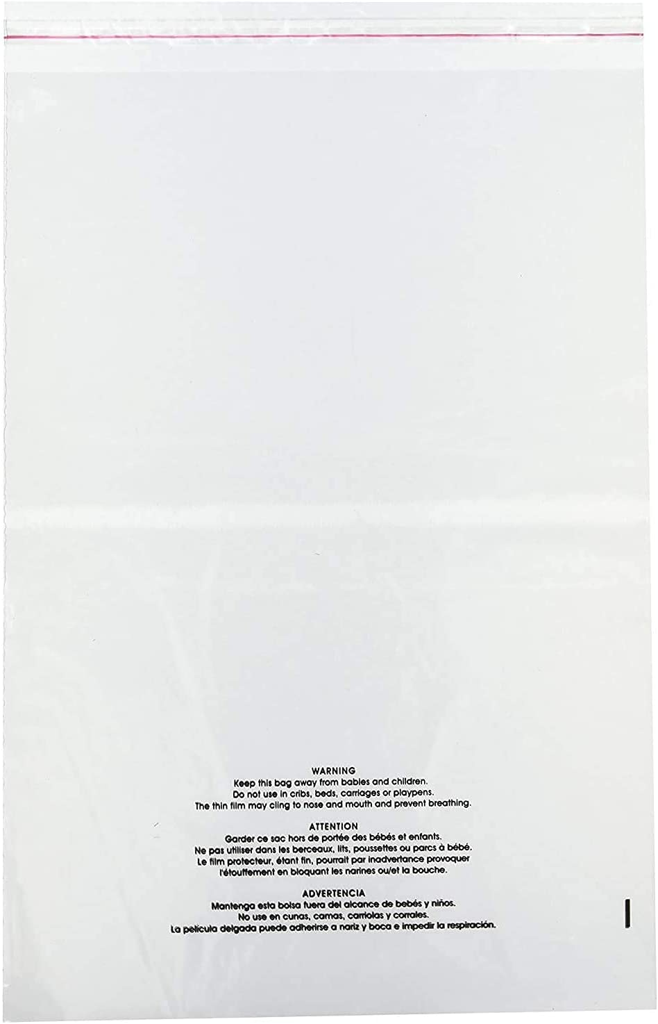 PackageZoom Suffocation Warning Bags Virginia Beach Mall Clear 12 x Inch Poly 9 Popular