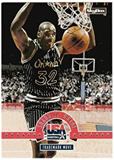 Shaquille O'Neal (Basketball Card) 1994 Skybox USA # 71