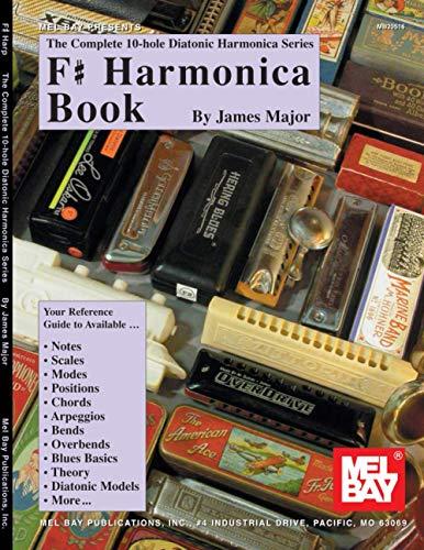 Complete 10-Hole Diatonic Harmonica Series: F#