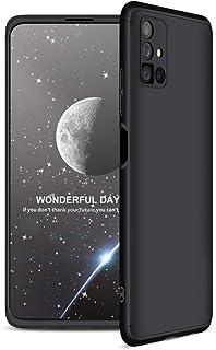 """Capa Capinha Anti Impacto 360 Para Samsung Galaxy M51 com Tela de 6.67"""" Polegadas Case Acrílica Fosca Acabamento Slim Maci..."""