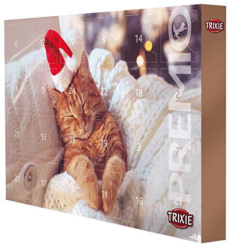 TRIXIE Adventskalender Premio für Katzen mit diversen Leckereien im Doppelpack (2 Stück)
