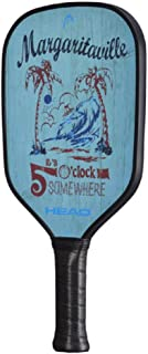 HEAD Fiberglass Pickleball Paddle - Its 5 O Clock Somewhere Paddle w/ Honeycomb Polymer Core & Comfort Grip