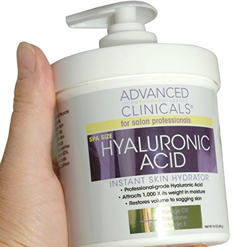 Advanced Clinicals Hyaluronic Acid Cream Review​