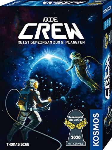 Kosmos 691868 Die Crew - Reist gemeinsam zum 9. Planten, Kennerspiel des Jahres 2020, kooperatives Kartenspiel für 3 bis 5 Spieler, mit Variante für ... Gesellschaftsspiel: 2 - 5 Spieler