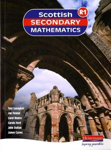 Scottish Secondary Maths: S1-1R Student Book download ebooks PDF Books